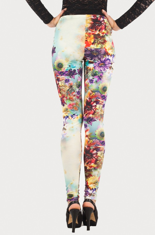 SKIN LONG POLYESTER PANT-hover