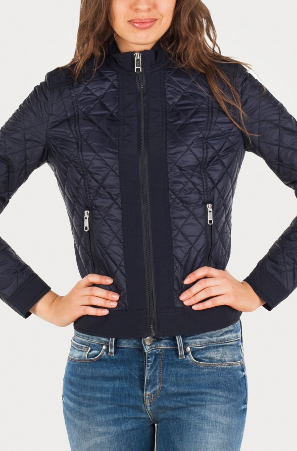 TANYA QUILTED COMBO JKT