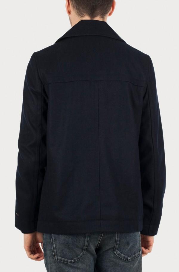 Jaden wool peacoat-hover