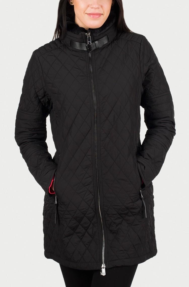 613999f3f99 black Coat Tess Quilted Coat Tommy Hilfiger, Womens Coats | Denim ...