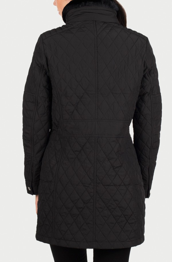 TESS QUILTED COAT-hover