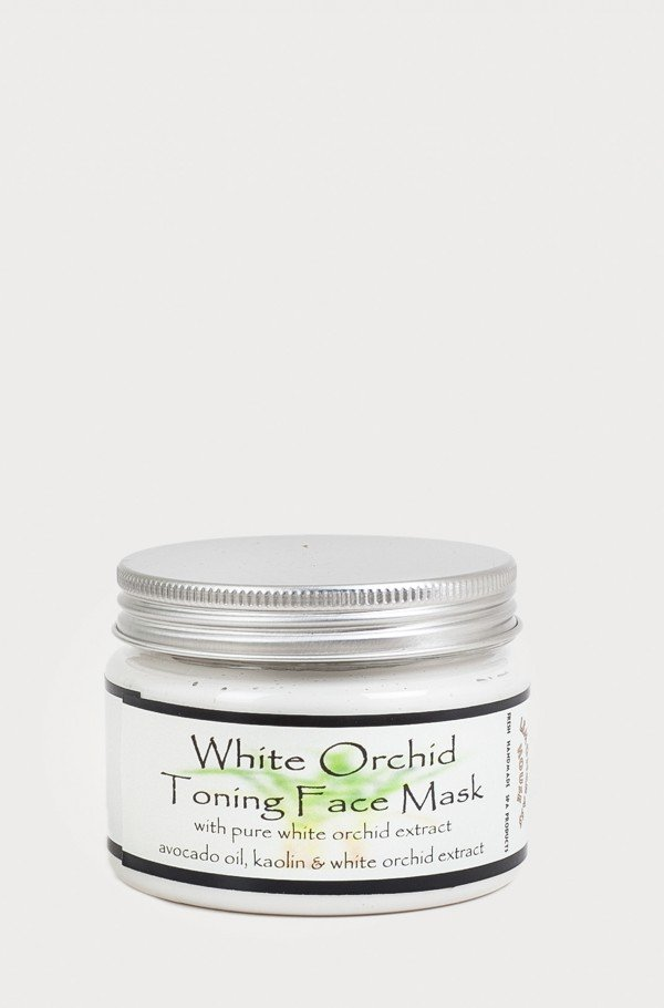 FACE MASK WHITE ORCHID MANDARIN
