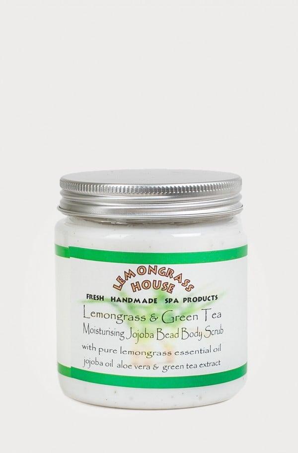 BODY SCRUB JOJOBA BEAD LEMONGRASS/GREEN TEA 300g