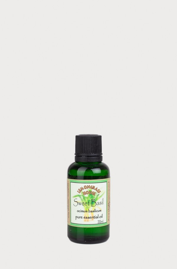 ESSENTIAL OIL SWEET BASIL 30ml
