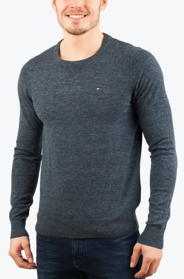 Original cotton blend cn sweater ls