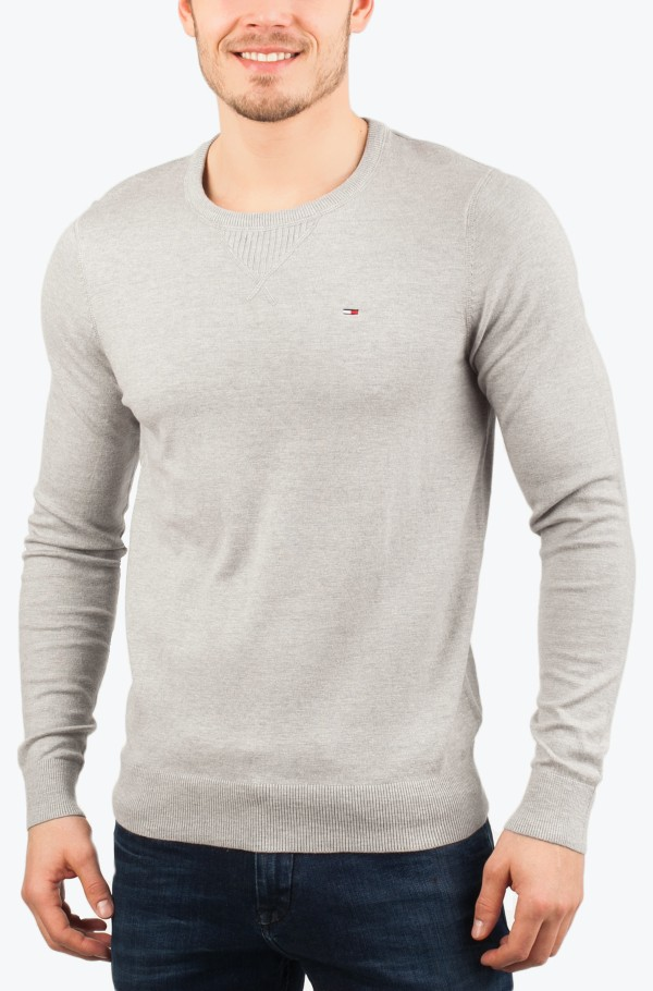 Original cotton blend cn sweater ls