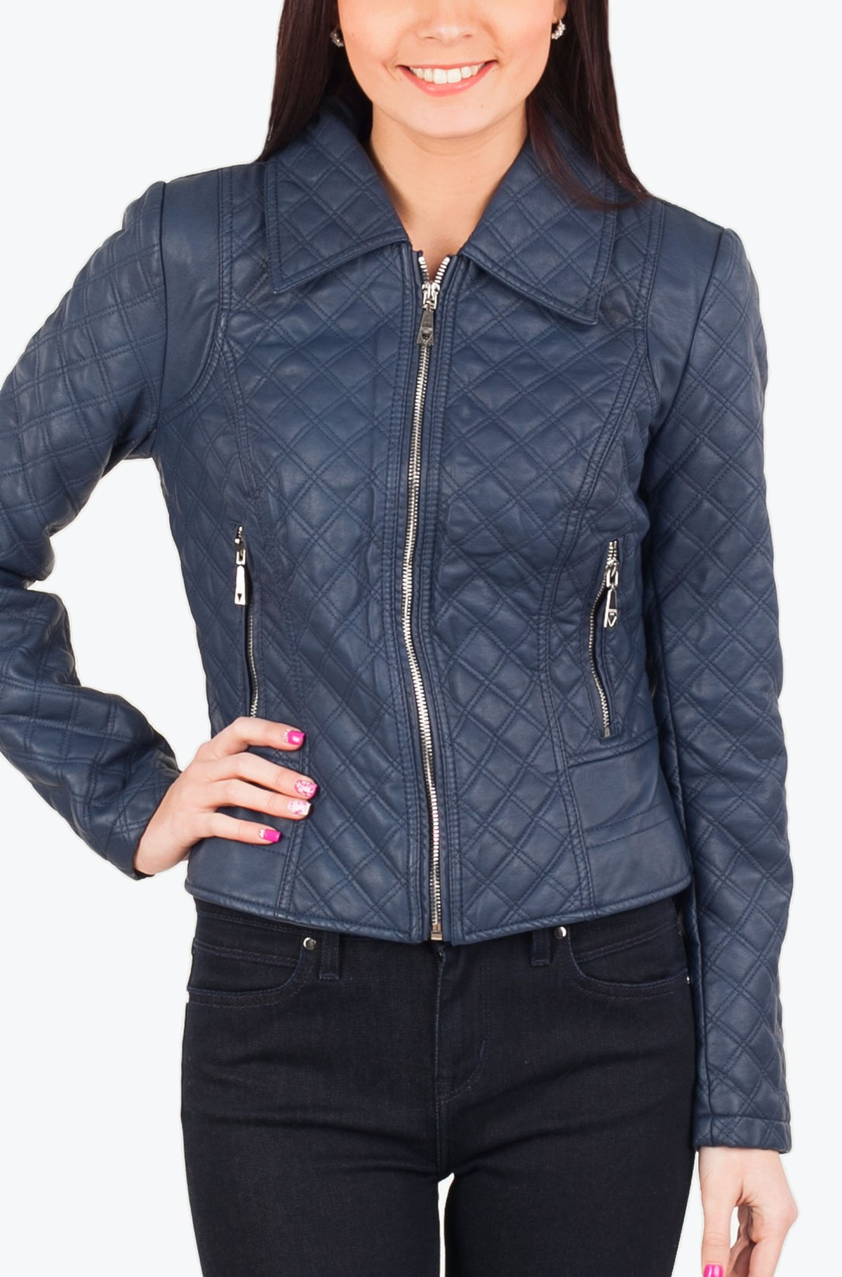 Leather jacket W54L25-full-1