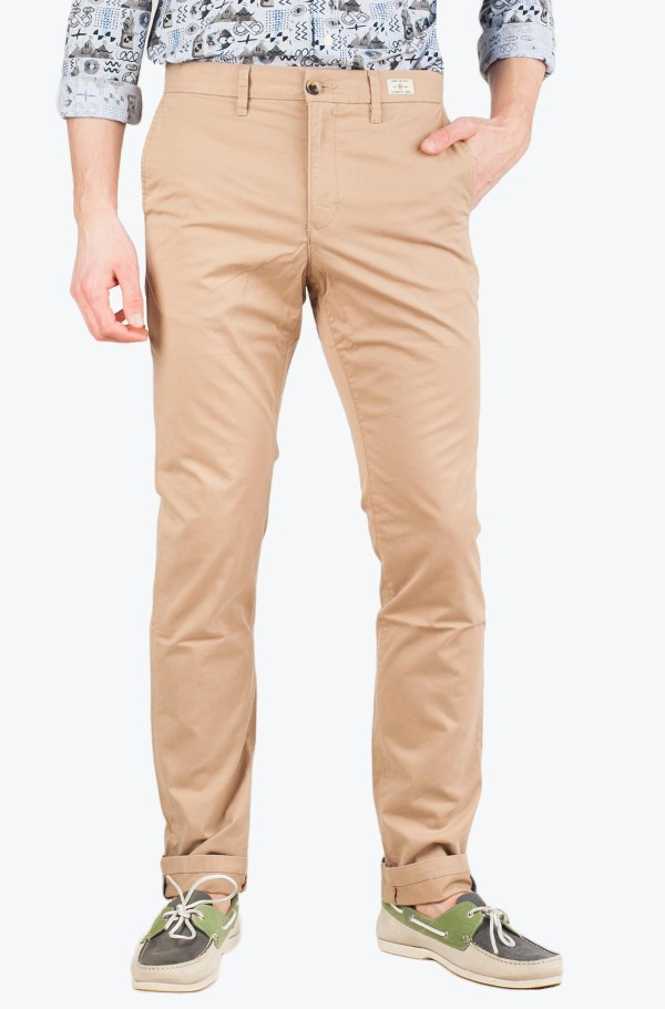 DENTON CHINO ORG STR TWILL