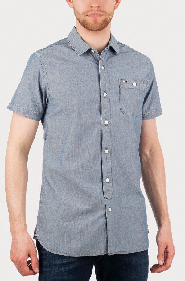 Chambray shirt s/s 17