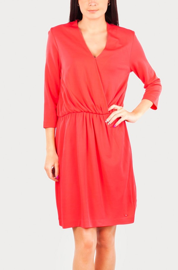NOLA WRAP DRESS 3/4 SLV