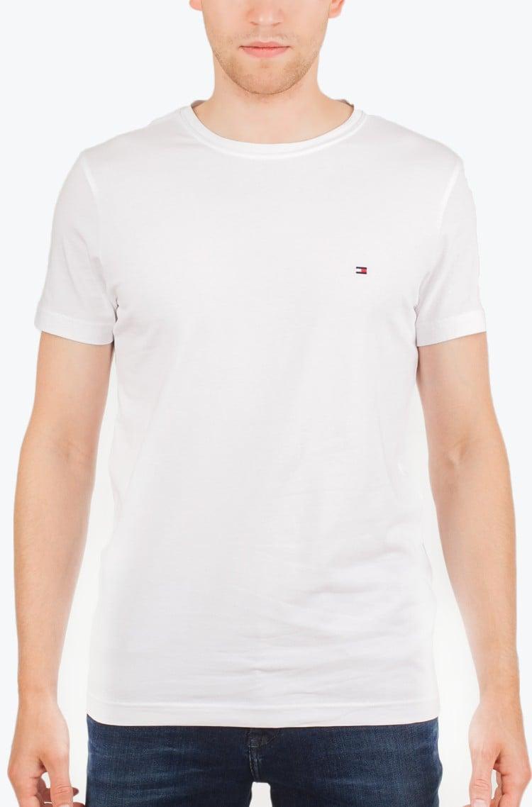 4f442fae T-shirt New Stretch C-Nk Tommy Hilfiger, Mens Short-sleeved | Denim ...