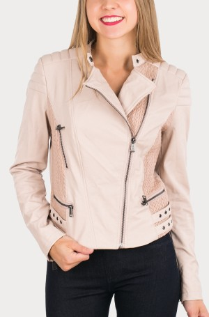 Leather jacket W62L01 -1