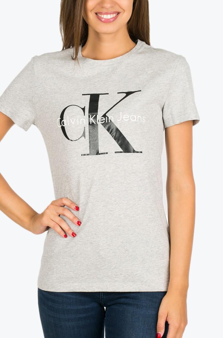 e5f83d150339 T-shirt Shrunken True Icon Calvin Klein