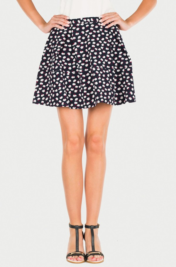 THDW PRINTED SHORT SKIRT 5
