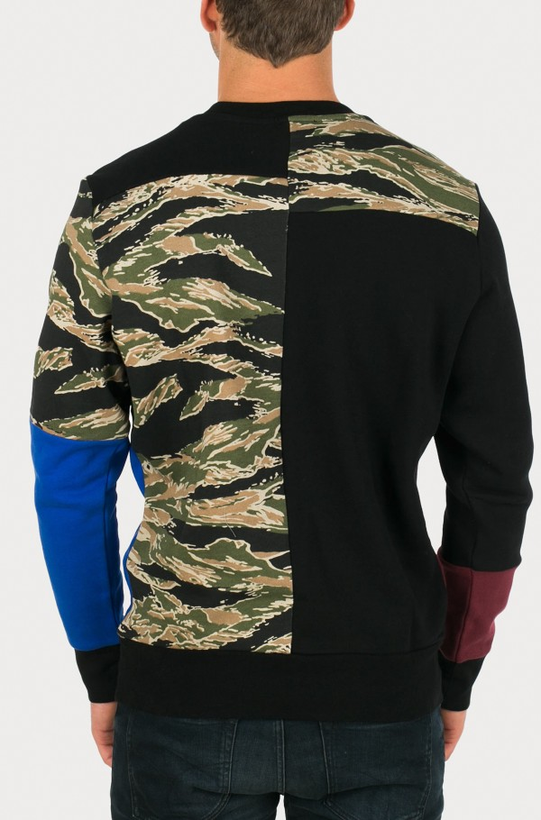 0DANC S-SKULL-PATCH SWEAT-SHIRT-hover