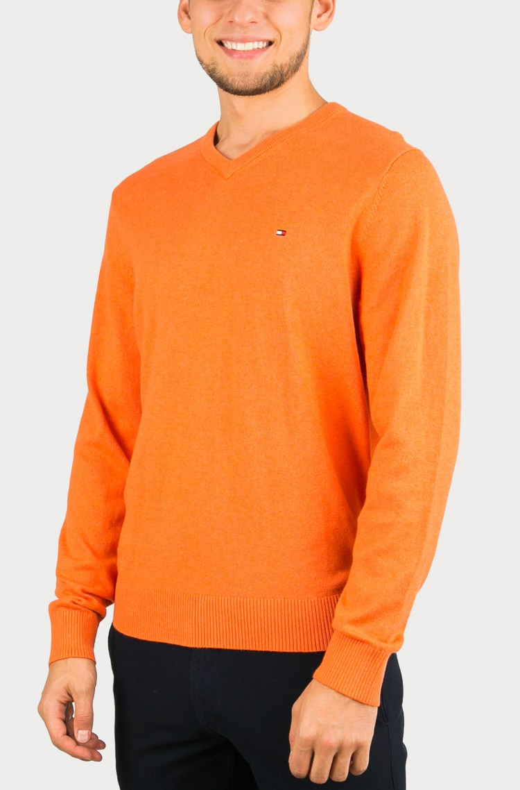 Sweater Pima CTN Cashmere V-Nk Tommy Hilfiger 30a459f9a59