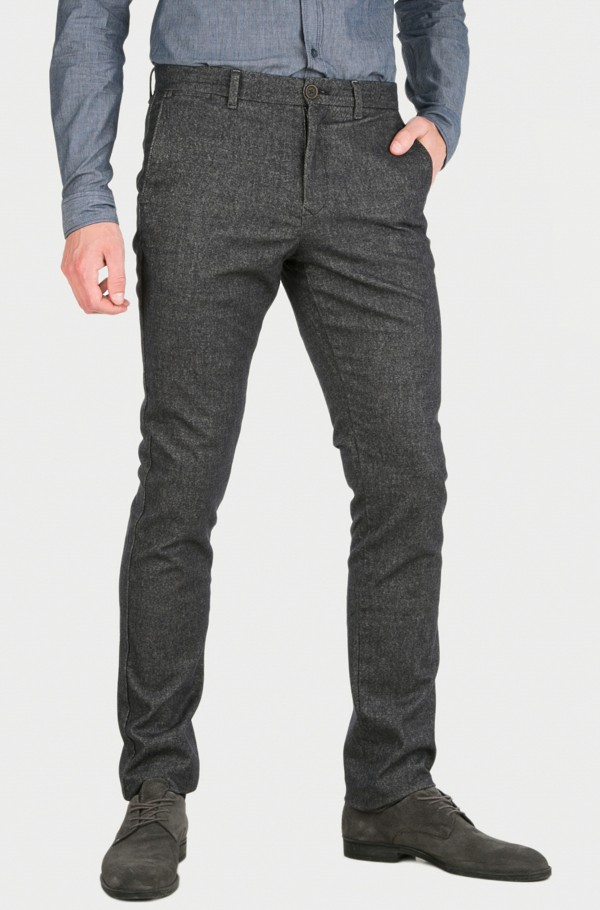 DENTON CHINO STR BRUSHED TWILL
