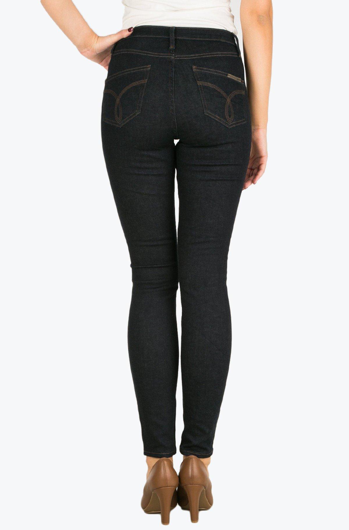 Džinsinės kelnės Sculpted Skinny - Dark Rinse-full-2
