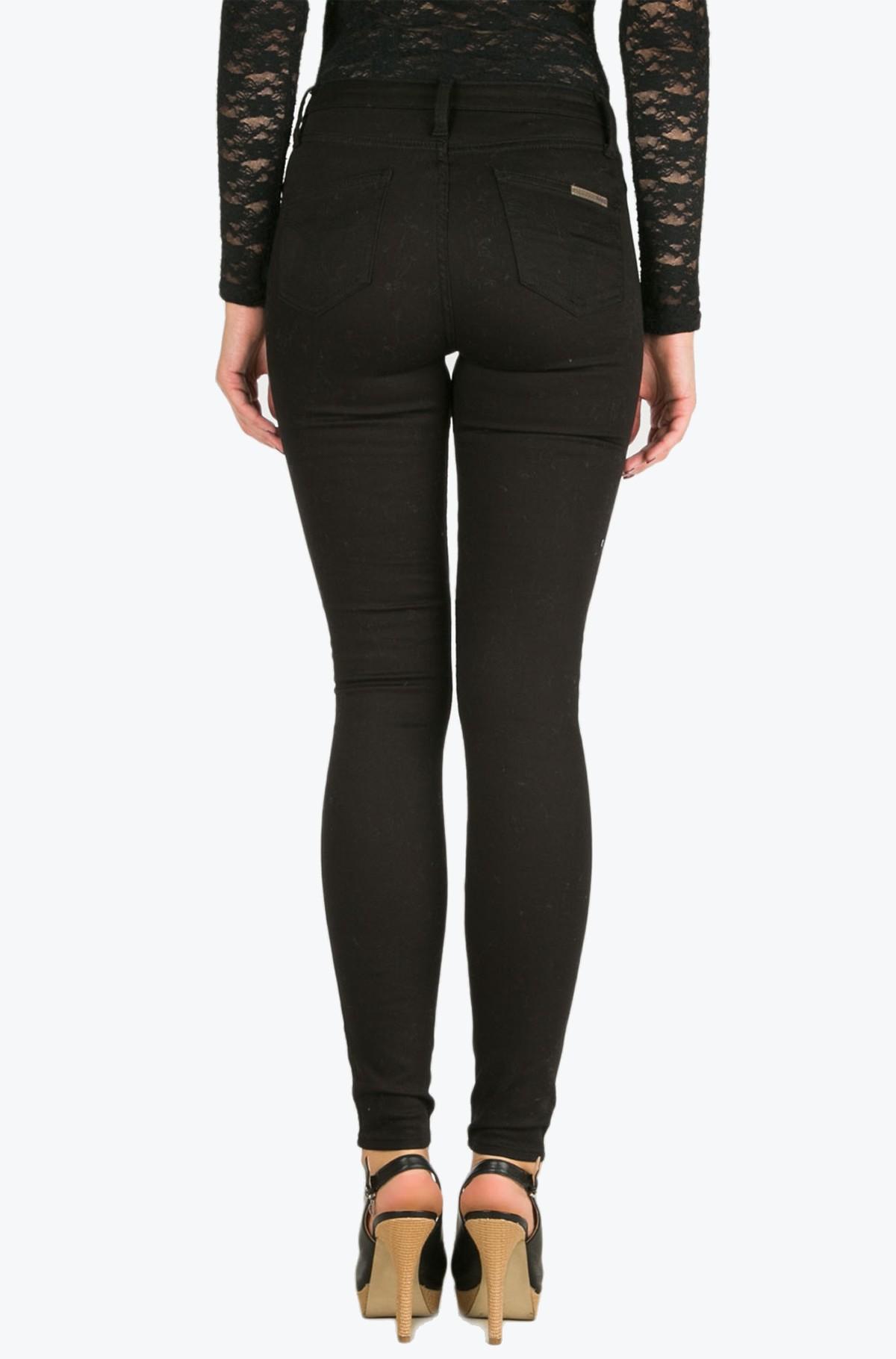 Džinsinės kelnės Sculpted Skinny - Infinite Black Str-full-2