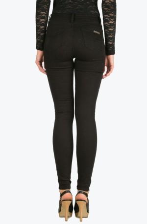 Džinsinės kelnės Sculpted Skinny - Infinite Black Str-2