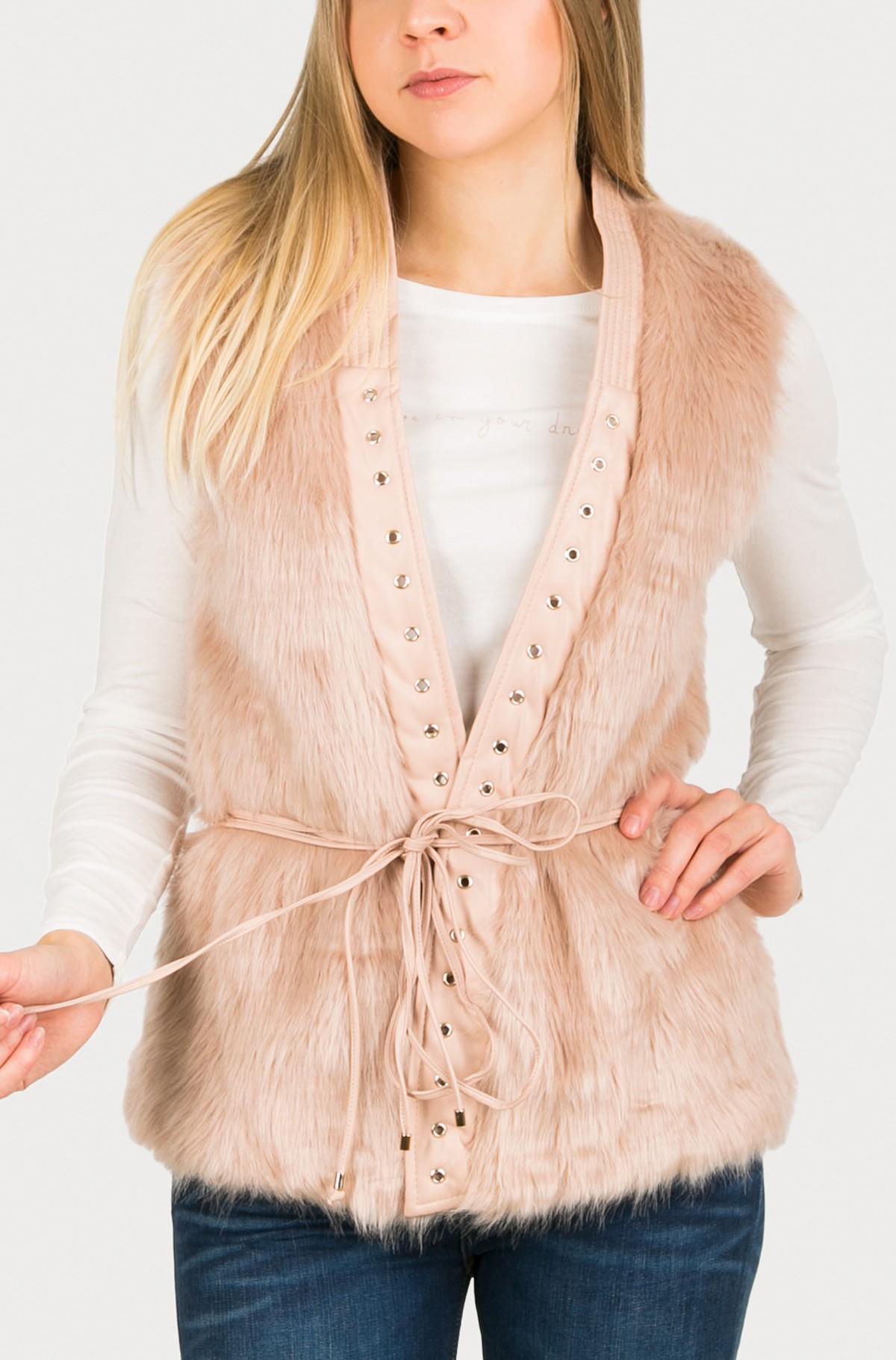Furry vest W63N10 W7IS0-full-1