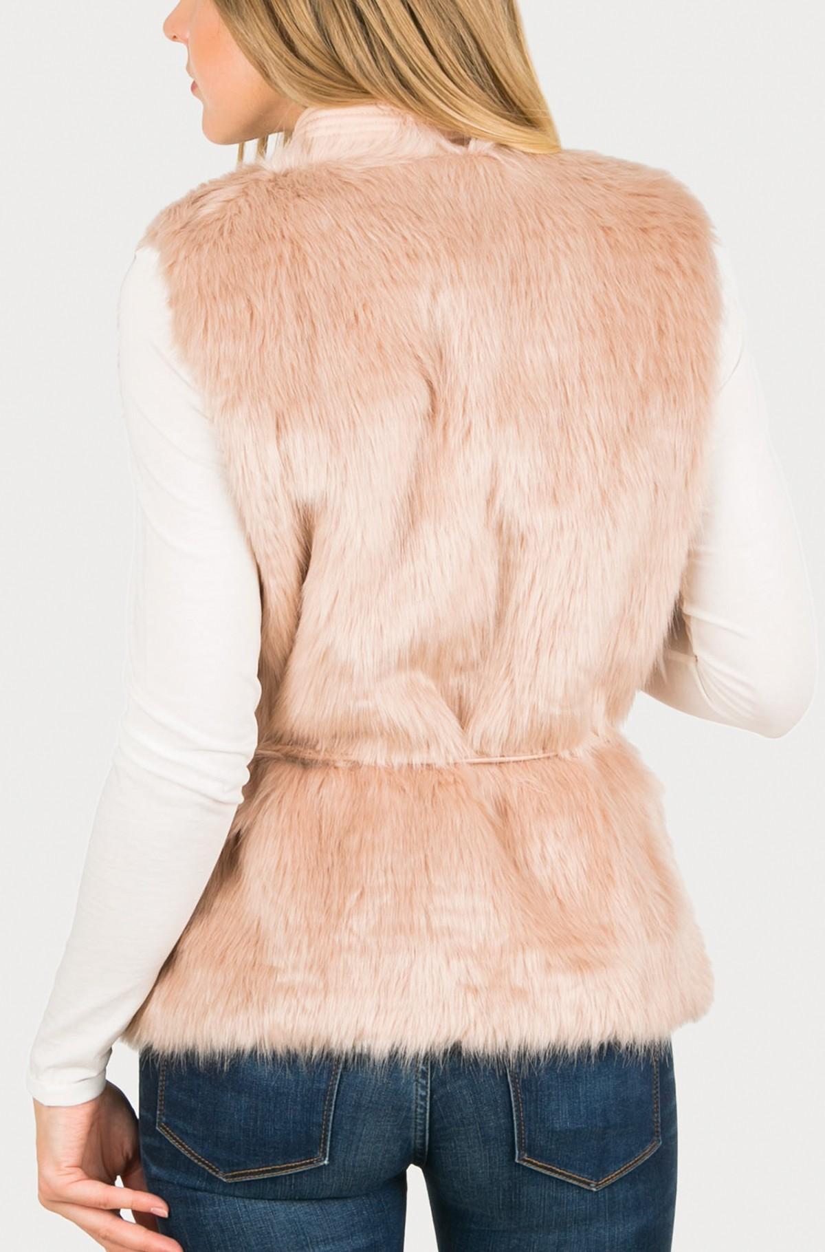 Furry vest W63N10 W7IS0-full-2