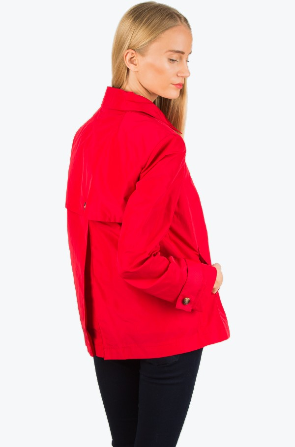 BOBBY NYLON CROPPED TRENCH-hover