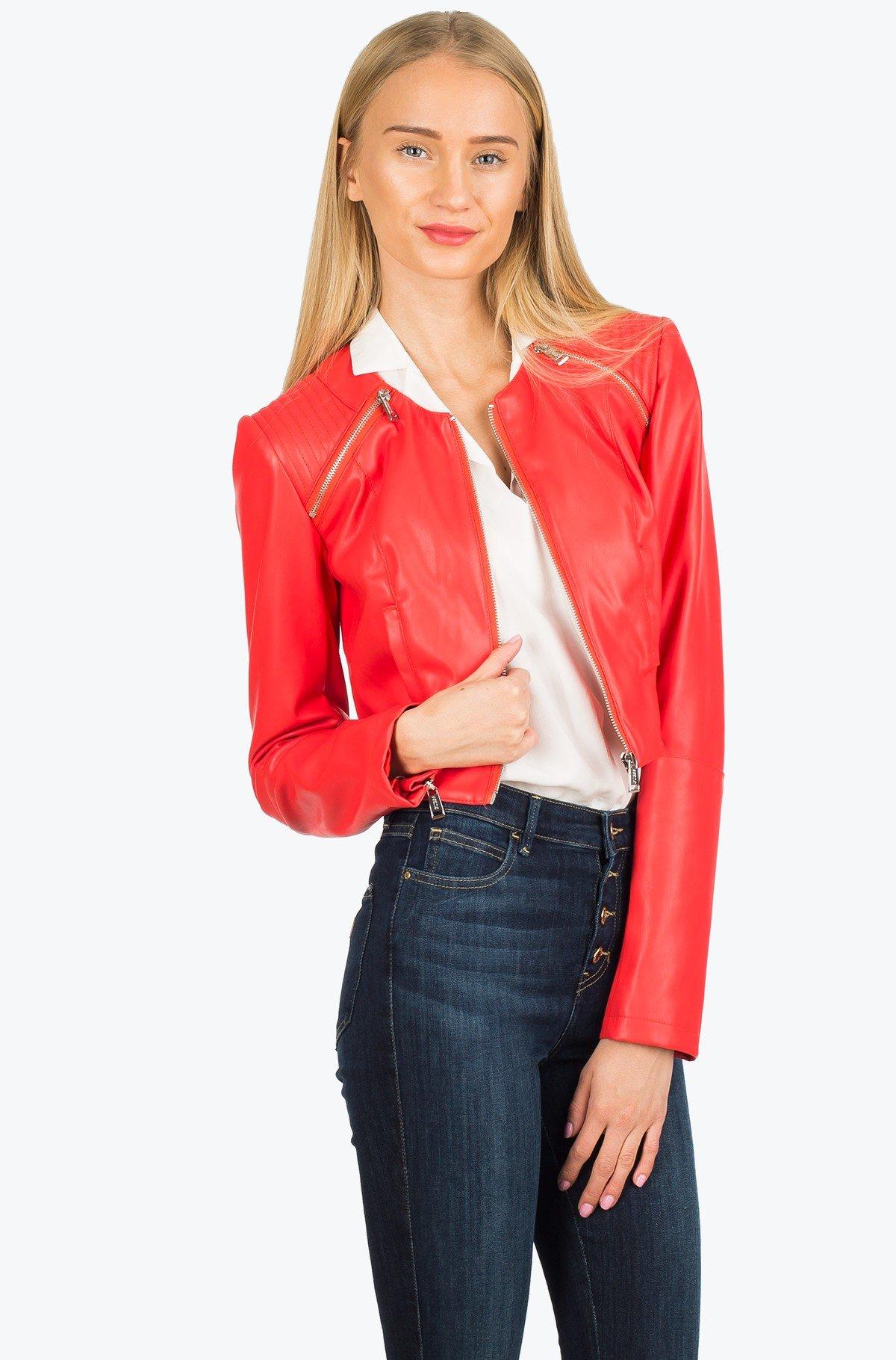 Leather jacket W72N61 -full-1