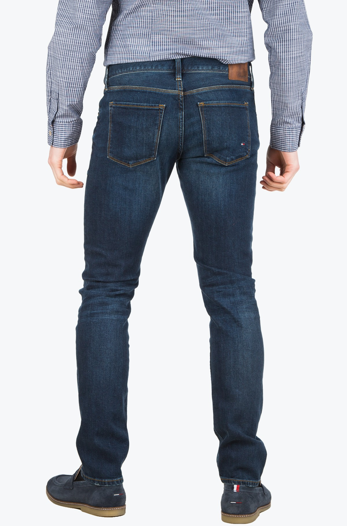 Džinsinės kelnės CORE BLEECKER SLIM JEAN-full-2