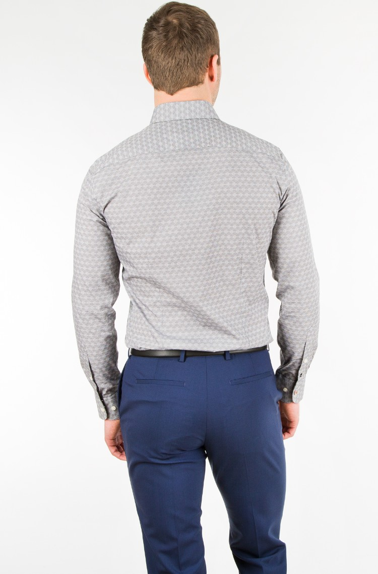 Shirt 8439 25876 Pierre Cardin Mens Long Sleeved Denim Dream E Pood