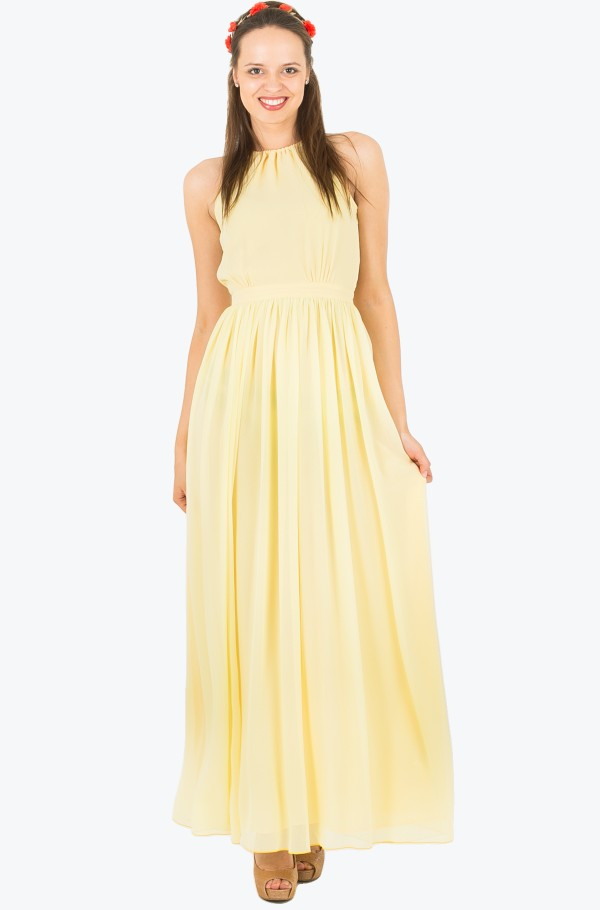 AGATHA  CHIFFON MAXI DRESS