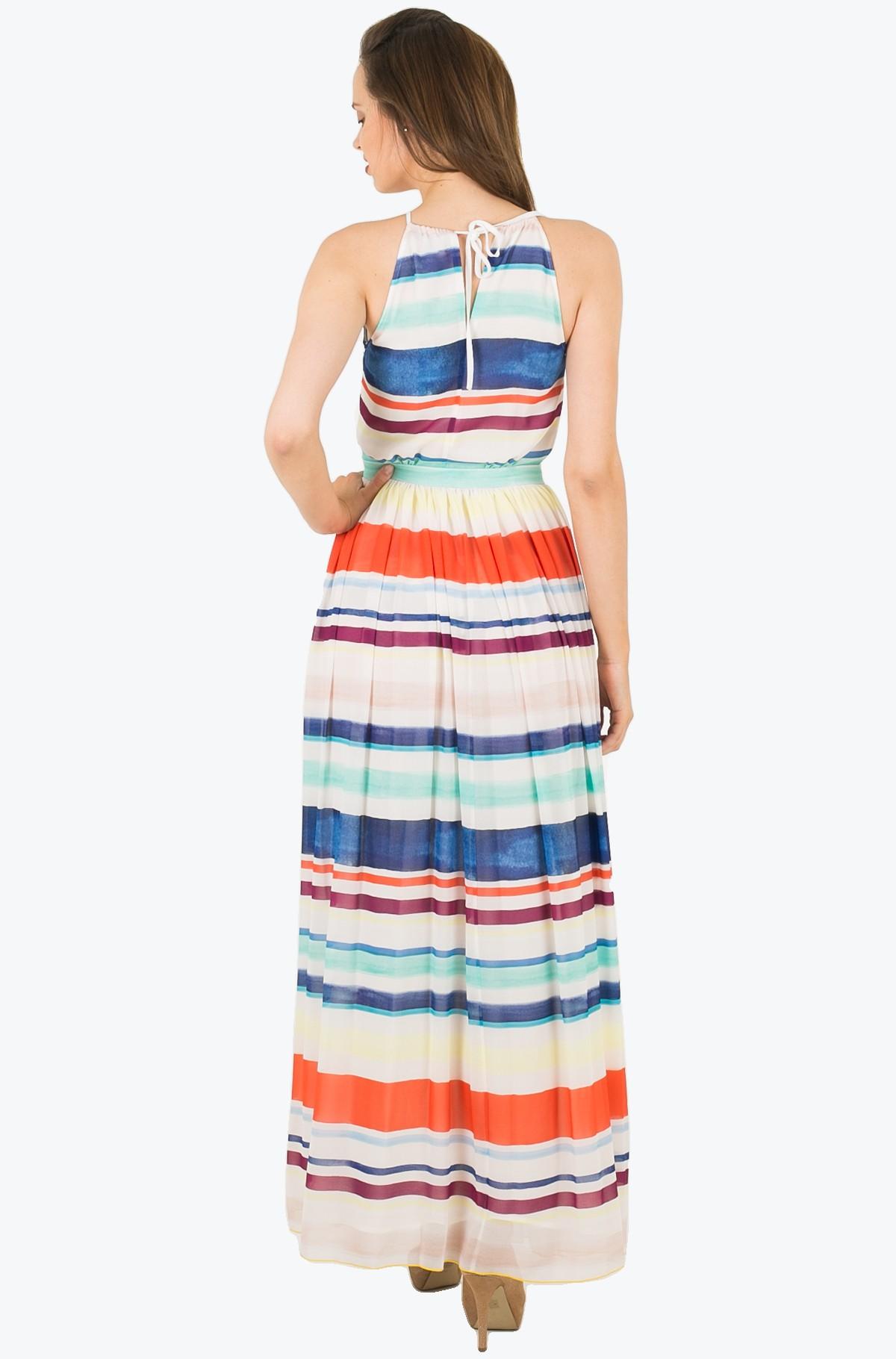 Suknelė AGATHA CHIFFON MAXI DRESS-full-2