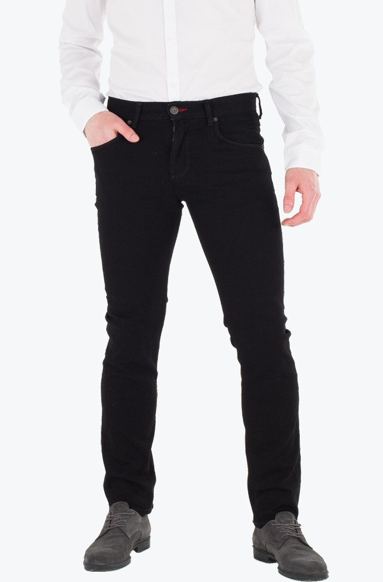 59f4ec64 Trousers Denton B Clean Black Tommy Hilfiger, Mens Jeans | Denim ...