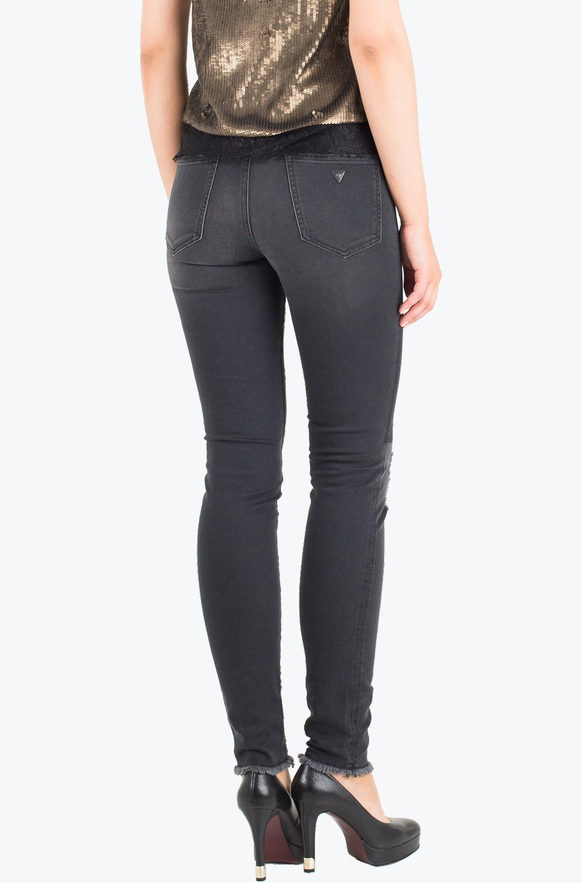 Džinsinės kelnės W64A46 D2C90-full-2