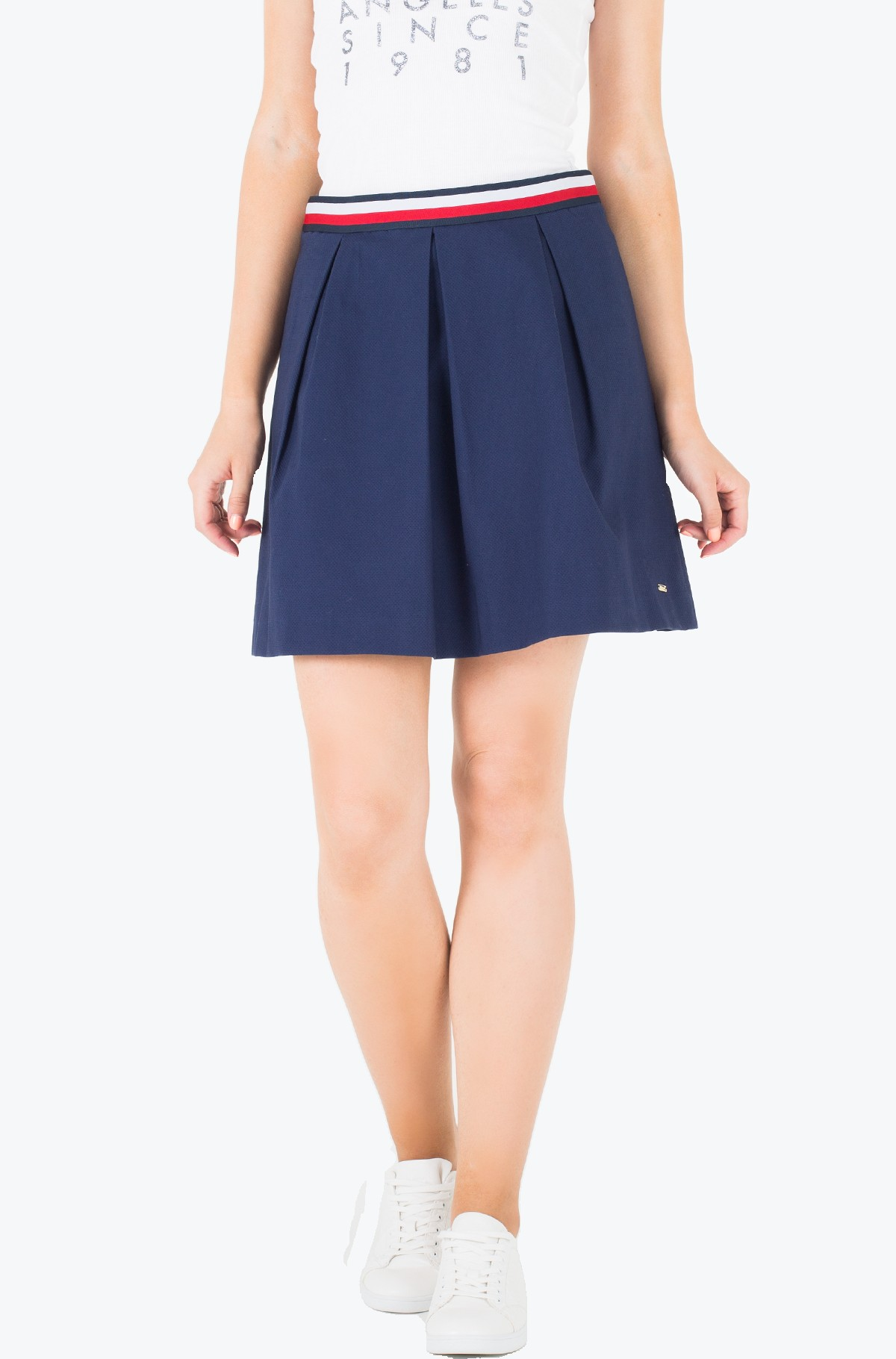 Seelik Taylor Solid Skirt-full-1
