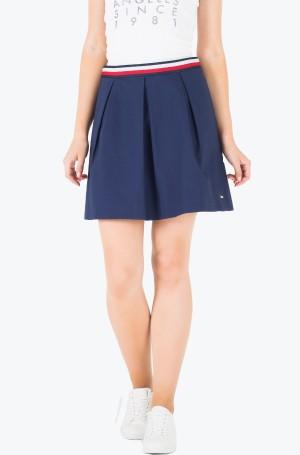 Seelik Taylor Solid Skirt-1