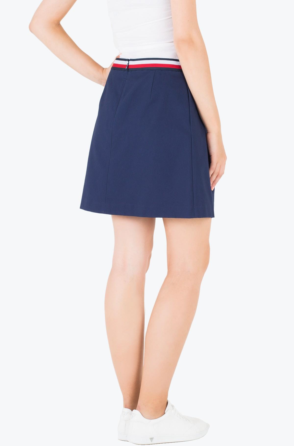 Seelik Taylor Solid Skirt-full-2