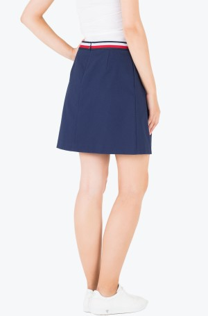 Seelik Taylor Solid Skirt-2