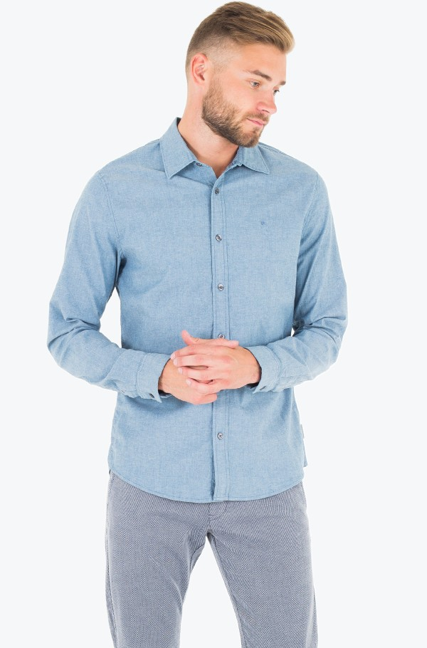 WILMER ST CHAMBRAY SHIRT L/S
