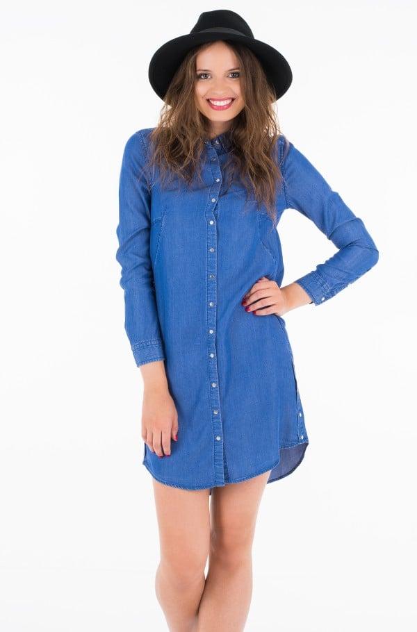 DALENE TENCEL SHIRT DRESS LS
