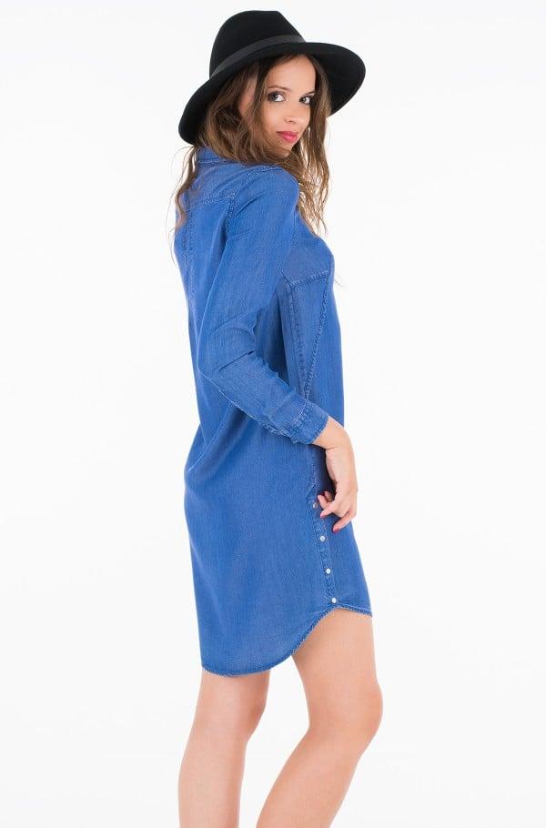 DALENE TENCEL SHIRT DRESS LS-hover