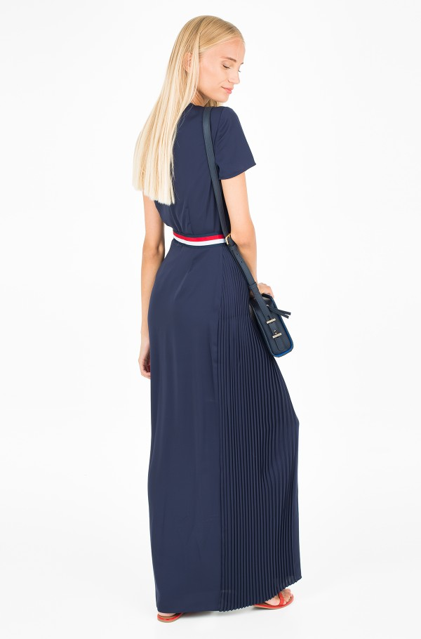 NALISE PLEATED MAXI DRESS SS-hover