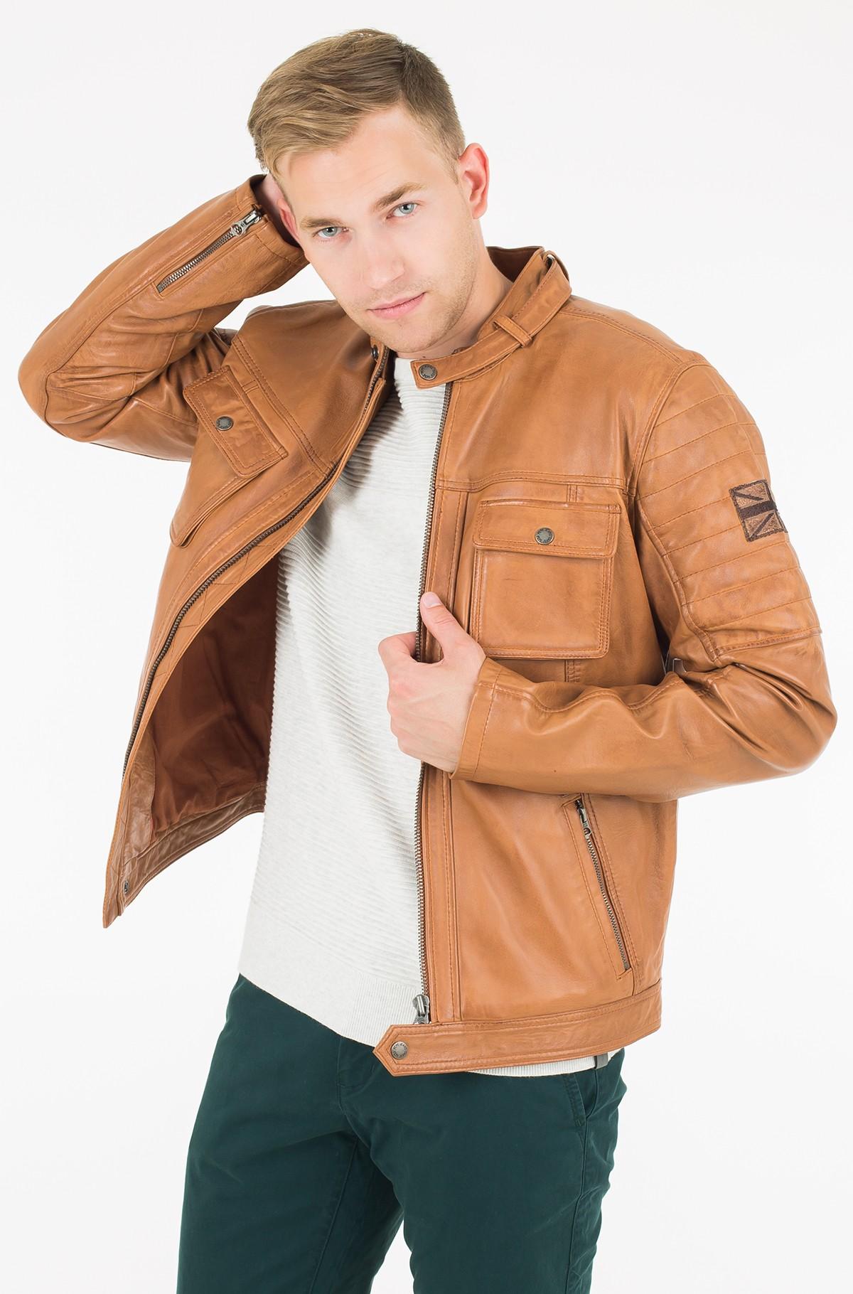 Leather jacket Cinnamon-full-1