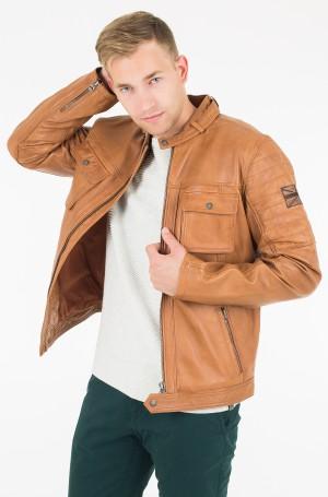Leather jacket Cinnamon-1