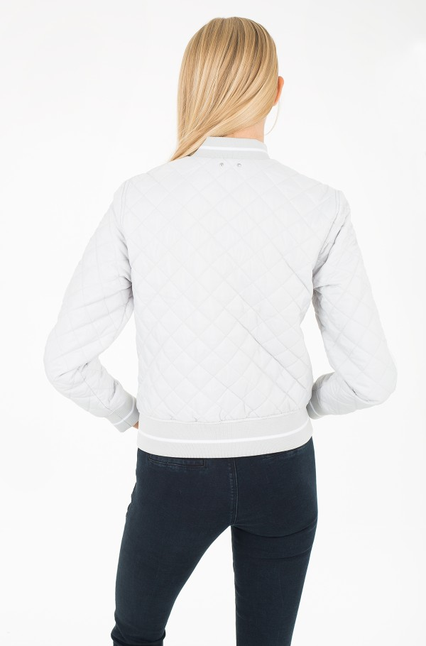 ORA QUILTED BOMBER-hover
