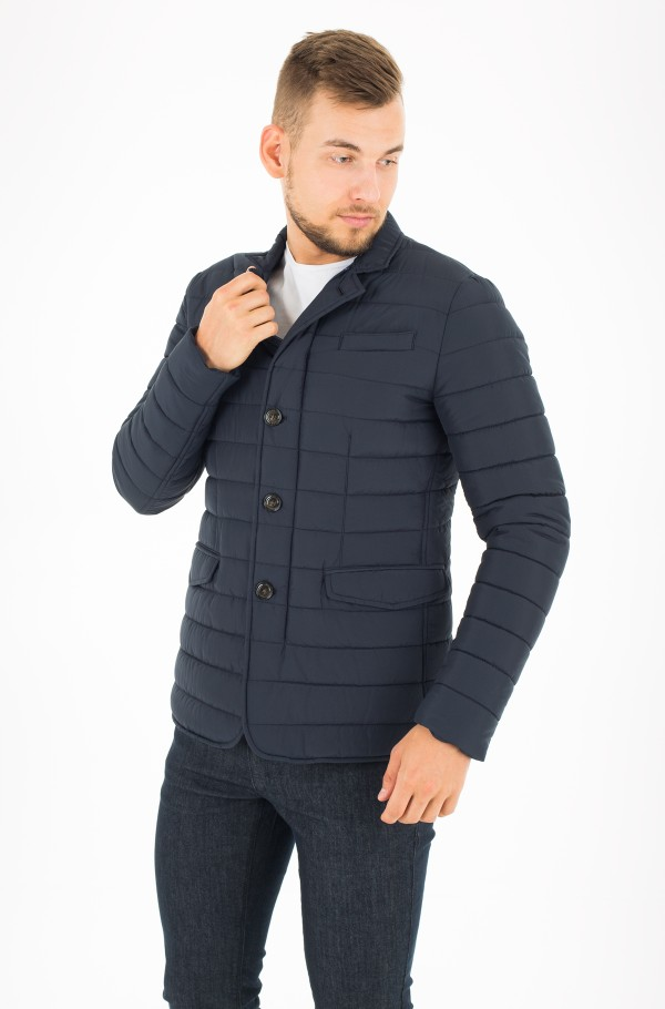 QUILTED PADDED BLAZER