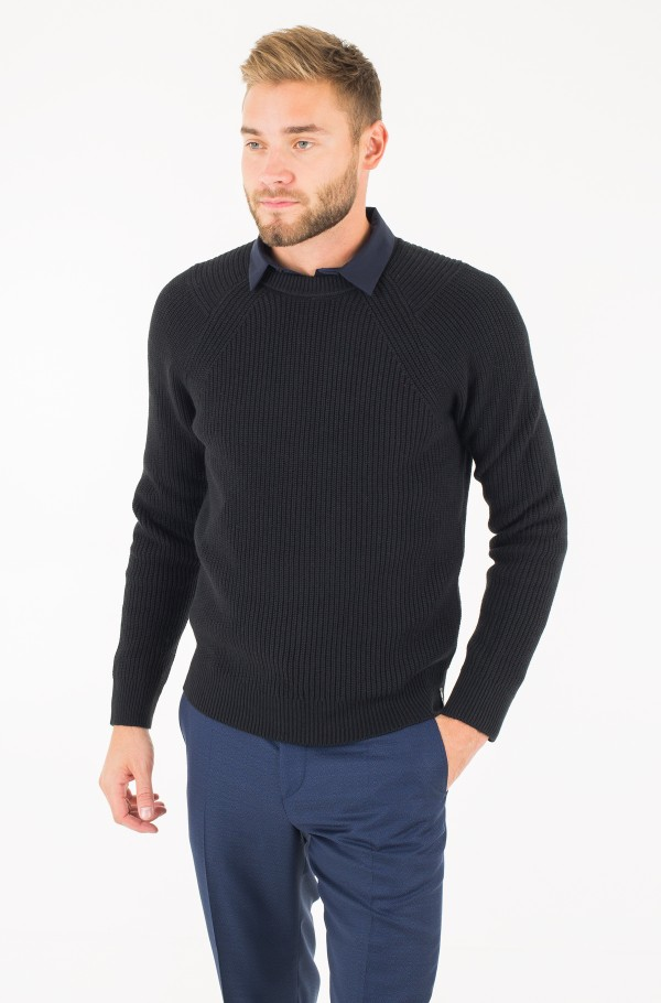 SPOTTON CN SWEATER LS