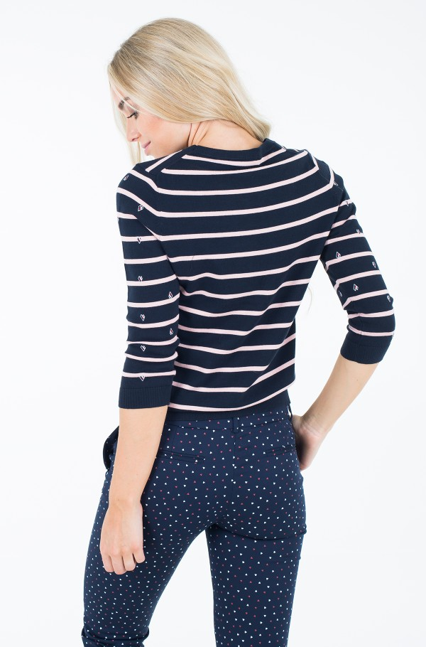 ALLY STP EMBROIDERY SWTR-hover