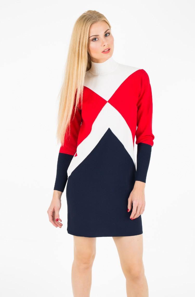 Dress Gigi Hadid Graphic Mock-NK72104