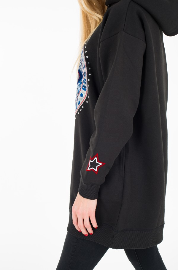 GIGI HADID HOODED DRESS-hover